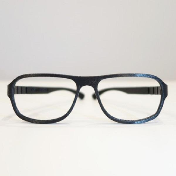 3D glass frames