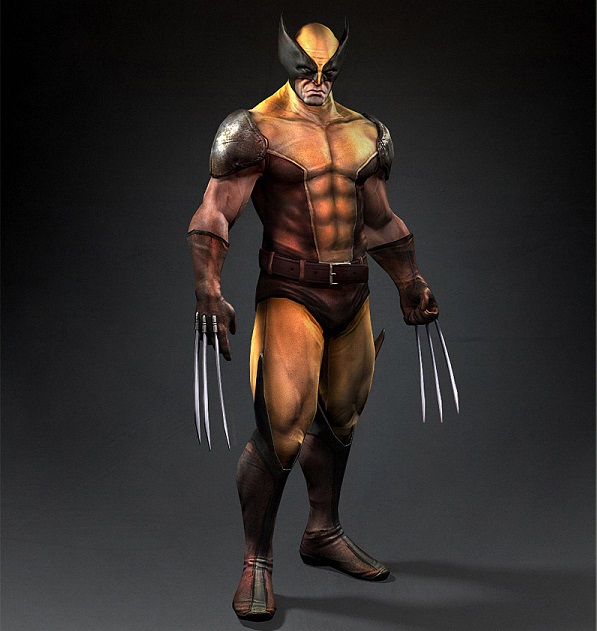 Wolverine 3d Model | Bulbandkey