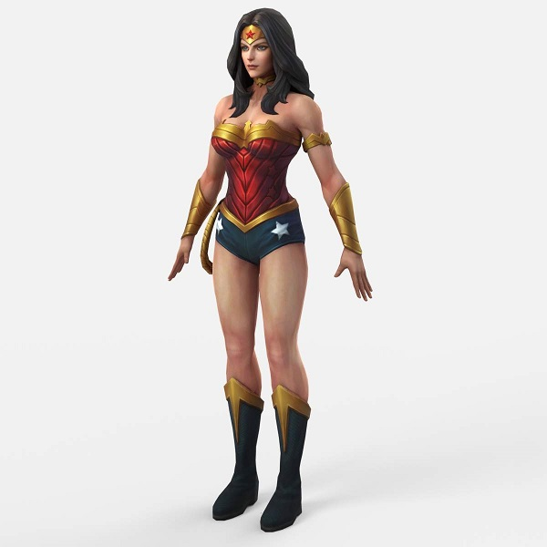 Wonder Women 3D Model | Bulbandkey